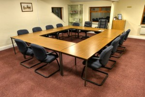 Old Basing and Lychpit Parish Council Pavilion meeting room